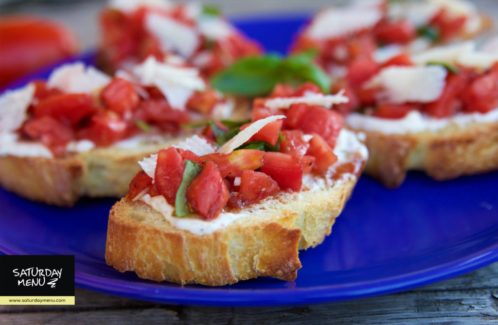 tomato-herbed-cheese-bruschetta