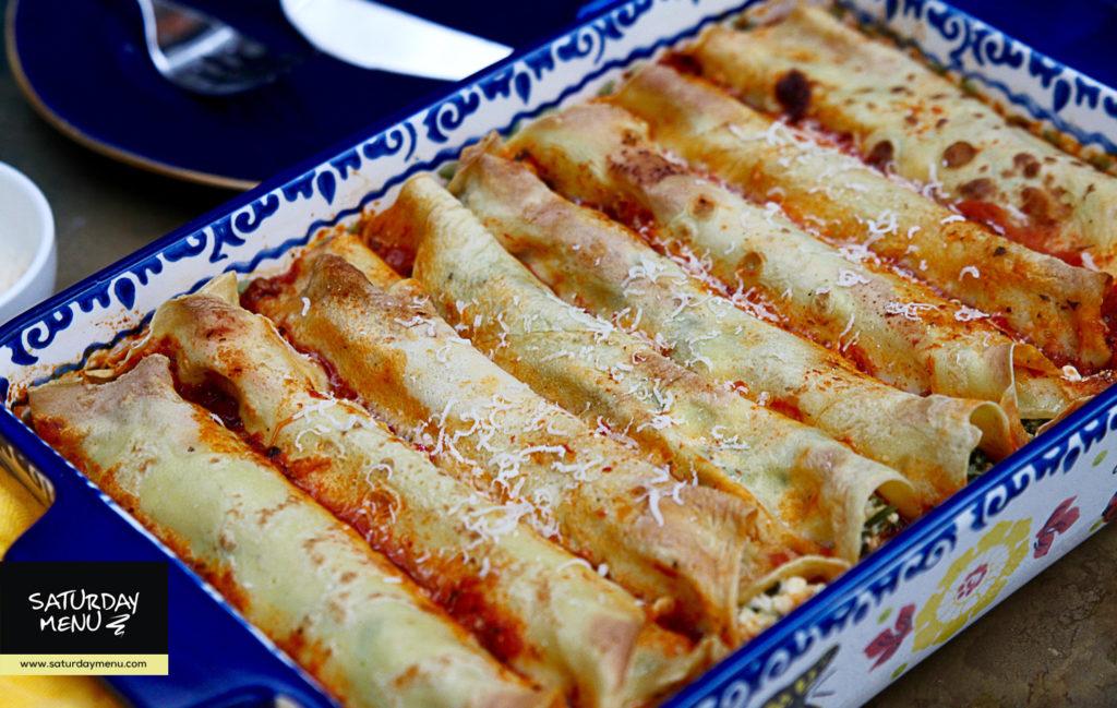 ispanaqlı ve kesmikli yemek