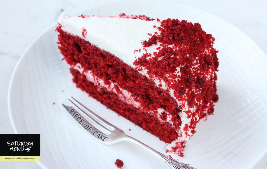 red velver cake Красный бархат торт