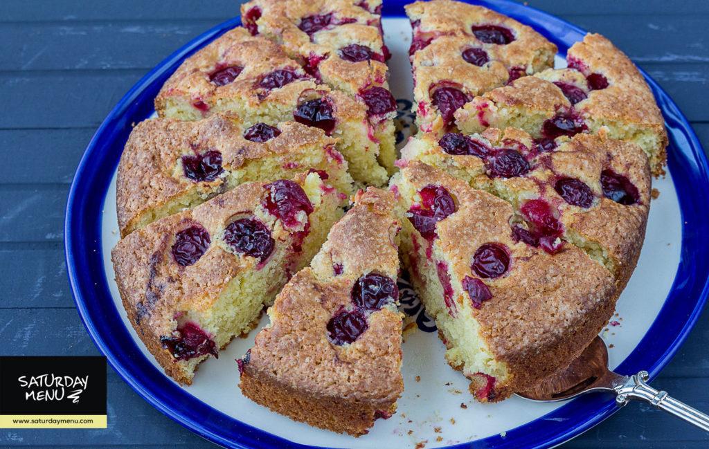 kəsmikli keks vişnəli keks albalili keks tvoroqlu keks